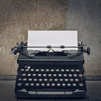 Photo of Typewriter - Query Letter Definition